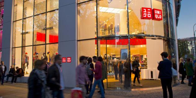 Berlin, Germany -  November 01: Berlin Uniqlo department store Kaufhaus des Westens (KaDeWe) on Tauenzien Street on November 01, 2014 in Berlin, Germany. (Photo by Michael Gottschalk/Photothek via Getty Images)
