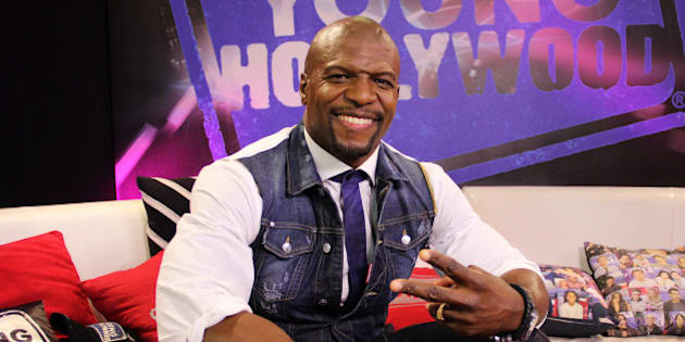 LOS ANGELES, CA - JANUARY 09: (EXCLUSIVE ACCESS) Terry Crews visits the Young Hollywood Studio on January 9, 2015 in Los Angeles, California. (Photo by Mary Clavering/Young Hollywood/Getty Images)