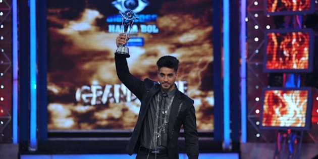 Indian television actor Gautam Gulati poses for a photograph during the 'Bigg Boss Seaon 8' final in Lonavala on January 31, 2015. AFP PHOTO/STR        (Photo credit should read STRDEL/AFP/Getty Images)