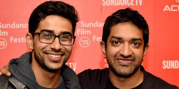 PARK CITY, UT - JANUARY 24:  Actor Suraj Sharma (L) and director Prashant Nair attend the 'Umrika' Premiere during the 2015 Sundance Film Festival on January 24, 2015 in Park City, Utah.  (Photo by Araya Diaz/Getty Images for Sundance)