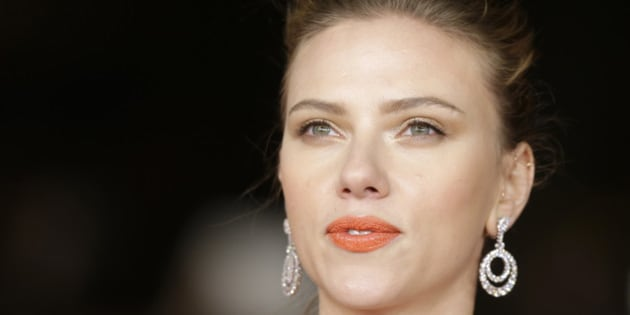 Actress Scarlett Johansson arrives for the screening of the film 'Her' at the 8th edition of the Rome International Film Festival in Rome, Sunday, Nov. 10, 2013. (AP Photo/Alessandra Tarantino)