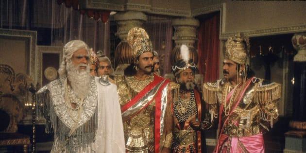 INDIA - NOVEMBER 14:  Mahabharat  (Photo by Hemant Pithwa/The India Today Group/Getty Images)