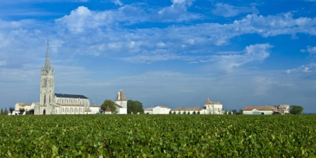 FRANCE - OCTOBER 02:  Vineyards and Church of St Jean at Pomerol in the Bordeaux wine region of France  (Photo by Tim Graham/Getty Images)