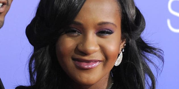 "FILE - In this Aug. 16, 2012, file photo, Bobbi Kristina Brown attends the Los Angeles premiere of ""Sparkle"" at Grauman's Chinese Theatre in Los Angeles. Messages of support were being offered Monday, Feb. 2, 2015, as people awaited word on Brown, who authorities say was found face down and unresponsive in a bathtub over the weekend in a suburban Atlanta home. (Photo by Jordan Strauss/Invision/AP, File)"