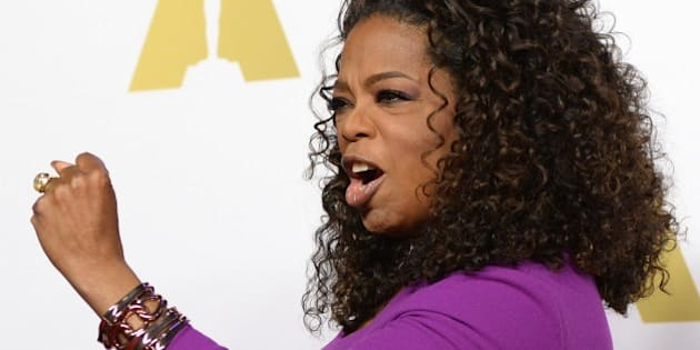 Actress/producer Oprah Winfrey arrives for the Oscars Nominees' Luncheon hosted by the Academy of Motion Picture Arts and Sciences, February 2, 2015 at the Beverly Hilton Hotel in Beverly Hills, California.  The 87th Oscars will take place in Hollywood, California February 22, 2015. AFP PHOTO / ROBYN BECK        (Photo credit should read ROBYN BECK/AFP/Getty Images)