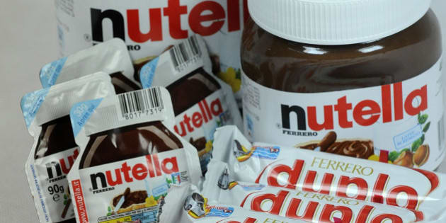 Ferrero SpA's Duplo, Fererro Rocher, Nutella, Mon Cheri and Pocket Coffee chocolate products are arranged for a photograph in Milan, Italy, on Thursday, Nov. 19, 2009. Michele Ferrero sold his first batch of Nutella spread in 1964. Four decades later, Italy's richest man must decide whether his company fast-tracks overseas growth by starting an auction for Cadbury Plc, or sticks to its recipe of homegrown sweets. Photographer: Giuseppe Aresu/Bloomberg via Getty Images