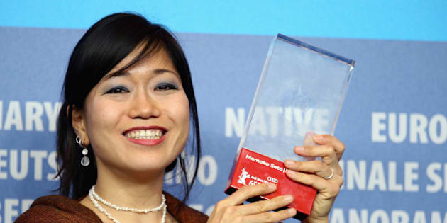 BERLIN, GERMANY - FEBRUARY 14:  Momoko Seto, winner of the AUDI Short Film Award for her movie 'PLANET S' attends the Award Winners press conference during the 65th Berlinale International Film Festival at Grand Hyatt Hotel on February 14, 2015 in Berlin, Germany.  (Photo by Andreas Rentz/Getty Images)