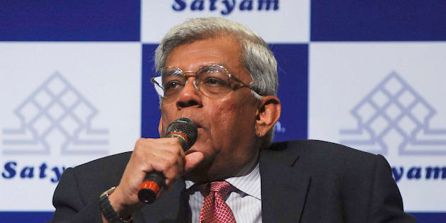 New board member of Satyam Computer Services, Housing Development Finance Corp. bank head Deepak Parekh, addresses the media in Hyderabad, India, Monday, Jan. 12, 2009. Embattled outsourcing giant Satyam Computers is looking for a new chief executive officer to replace the company's founder, who is in jail after confessing to doctoring accounts by $1 billion, the new board members said Monday after their first meeting. (AP Photo/Mahesh Kumar A)