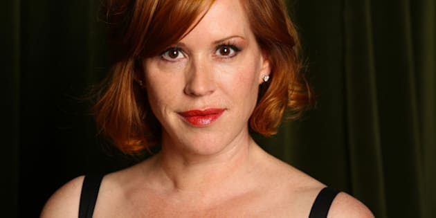 Molly Ringwald poses for a portrait at the Rcokwell on Tuesday, April 9, 2013 in Los Angeles. (Photo by Alexandra Wyman/Invision/AP)