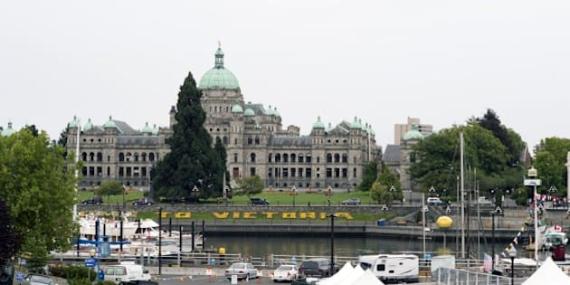 VICTORIA, BC - AUGUST 29:  Inner Harbour with the Parliament building on August 29, 2014 in Victoria, British Columbia, Canada. (Photo by Santi Visalli/Getty images)