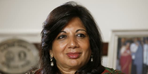 Kiran Mazumdar-Shaw, chairman and managing director of Biocon Ltd., pauses during an interview at the company's headquarters in Bangalore, India, on Wednesday, Feb. 29, 2012. Biocon is India's biggest biotechnology company. Photographer: Namas Bhojani/Bloomberg via Getty Images