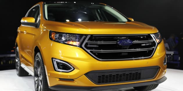 Ford Hiring  In Oakville Ont To Produce New Edge Crossover Suv Photos