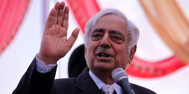 Mufti Mohammad Sayeed former chief minister of Jammu and Kashmir and patron of Kashmir's main opposition political party the Jammu and Kashmir People's Democratic Party (PDP) delivers a speech during a rally in Jammu on November 28, 2011. India has an estimated 500,000 troops in Kashmir, which is split into Indian- and Pakistani-administered parts. There has been a separatist insurgency in the Indian zone for 20 years that has left thousands dead so far. AFP PHOTO/STR (Photo credit should read STRDEL/AFP/Getty Images)