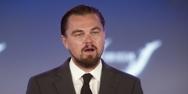 Actor Leonardo DiCaprio speaks at the second day of the State Department's 'Our Ocean' conference at the State Department in Washington, Tuesday, June 17, 2014.  President Barack Obama is looking to create the largest marine preserve in the world by protecting a massive stretch of the Pacific Ocean from drilling, fishing and other actions that could threaten wildlife, the White House said. (AP Photo/Cliff Owen)