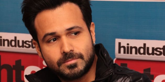 NEW DELHI, INDIA - NOVEMBER 26: Indian Bollywood actor Emraan Hashmi during an exclusive interview for promotion of his upcoming movie Ungli at HT House on November 26, 2014 in New Delhi, India. (Photo by Shivam Saxena/Hindustan Times via Getty Images)