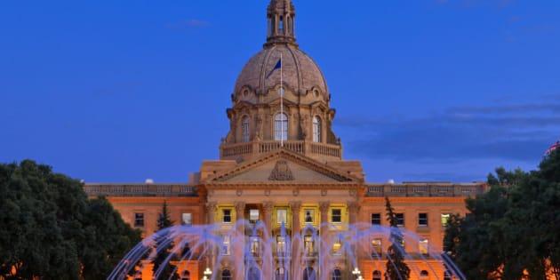 Fountain, AB Legislature, Edmonton, AB, Canada