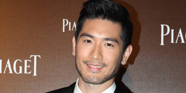 HONGKONG,CHINA - OCTOBER 24:Actor Godfrey Gao attends Piaget banquet at Peninsula Hotel on Thursday October 24,2013 in Hong Kong,China.(Photo by TPG/Getty Images)