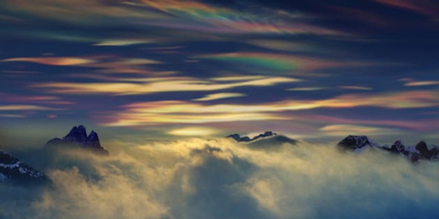 Polar Stratospheric Clouds in the Antarctic
