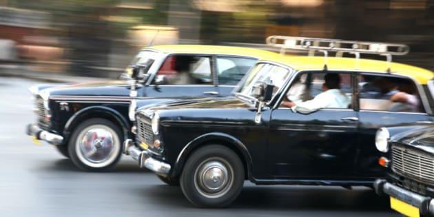 Indian taxi race