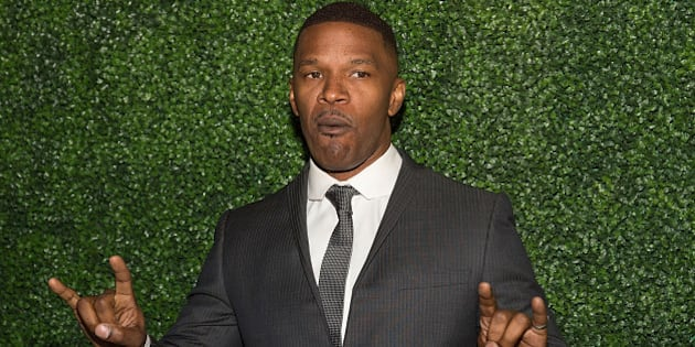AUSTIN, TX - FEBRUARY 25:  Actor Jamie Foxx arrives at the Texas Medal of Arts Awards at the Long Center on February 25, 2015 in Austin, Texas.  (Photo by Rick Kern/WireImage)