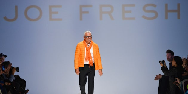 TORONTO, ON - MARCH 19:  Designer Joseph Mimran presents Joe Fresh fall 2014 collection during World MasterCard Fashion Week Fall 2014 at David Pecaut Square on March 19, 2014 in Toronto, Canada.  (Photo by George Pimentel/Getty Images for IMG)