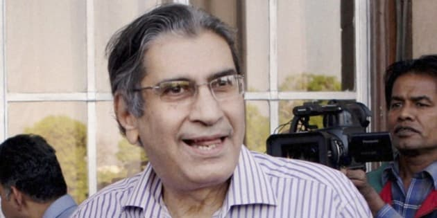 An undated file photo of journalist, author and founding editor of India's Outlook magazine Vinod Mehta in New Delhi, India. Mehta a fearless and irreverent commentator on Indian politics, died Sunday, March 8, 2015. He was 73. (AP Photo/Press Trust of India) INDIA OUT
