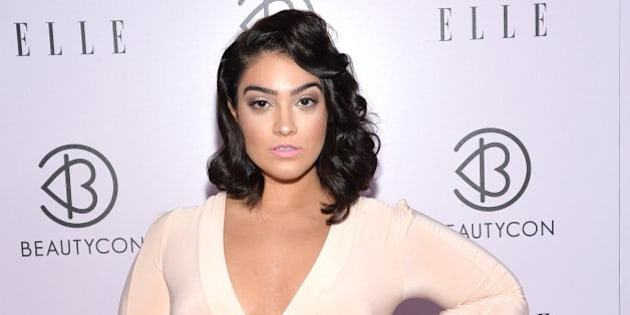 NEW YORK, NY - MAY 24:  Fashion blogger Nadia Aboulhosn attends the 3rd Annual BeautyCon Summit presented by ELLE Magazine at Pier 36 on May 24, 2014 in New York City.  (Photo by Mike Coppola/Getty Images)
