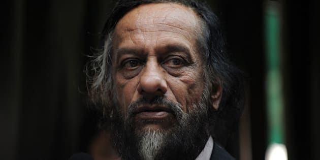 Director General of the Energy and Resources Institute (TERI) R.K. Pachauri addresses mediapersons in New Delhi on January 23, 2010. The head of the UN's climate science panel said January 23 that a doomsday prediction about the fate of Himalayan glaciers was 'a regrettable error.' Pachauri, chairman of the Nobel-winning Intergovernmental Panel on Climate Change (IPCC) said in an emailed statement to media outlets that the mistake arose out of 'established procedures not being diligently followed.' AFP PHOTO/ MANAN VATSYAYANA (Photo credit should read MANAN VATSYAYANA/AFP/Getty Images)
