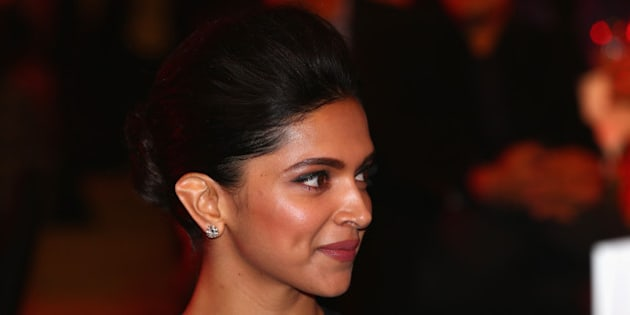 DELHI, INDIA - DECEMBER 07:  Deepika Padukone at the Coca-Cola gala dinner during the Coca-Cola International Premier Tennis League third leg at the Indira Gandhi Indoor Stadium December 7, 2014 in Delhi, Delhi.  (Photo by Clive Brunskill/Getty Images for IPTL 2014)
