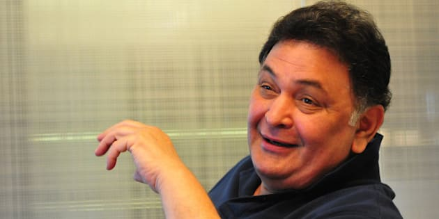 CHANDIGARH INDIA - MARCH 10: Bollywood actor Rishi Kapoor during an interview on March 10, 2014 in Chandigarh, India. (Photo by Keshav Singh/Hindustan Times via Getty Images)
