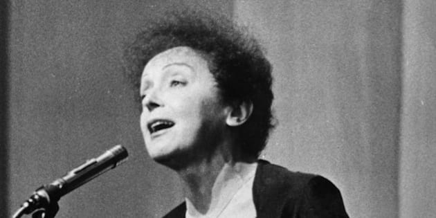Undated photo showing French singer Edith Piaf. (AP Photo)
