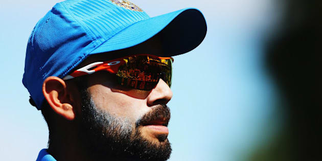 HAMILTON, NEW ZEALAND - MARCH 10:  Virat Kohli of India fields during the 2015 ICC Cricket World Cup match between Ireland and India at Seddon Park on March 10, 2015 in Hamilton, New Zealand.  (Photo by Hannah Peters/Getty Images)