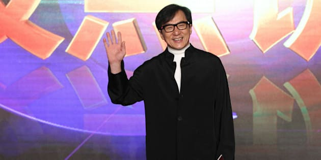 BEIJING, CHINA - FEBRUARY 26:  (CHINA OUT) Jackie Chan attends press conference of 'Dragon Blade' for high box-office on February 26, 2015 in Beijing, China.  (Photo by ChinaFotoPress/ChinaFotoPress via Getty Images)