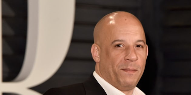 BEVERLY HILLS, CA - FEBRUARY 22:  Actor Vin Diesel attends the 2015 Vanity Fair Oscar Party hosted by Graydon Carter at Wallis Annenberg Center for the Performing Arts on February 22, 2015 in Beverly Hills, California.  (Photo by Pascal Le Segretain/Getty Images)