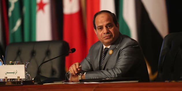 Egyptian President Abdel Fattah al-Sisi chairs an Arab foreign ministers meeting during an Arab summit in Sharm el-Sheikh, South Sinai, Egypt, Sunday, March 29, 2015. Arab League member states have agreed in principle to form a joint inter-Arab military peacekeeping force. The agreement is a telling sign of a new determination among Saudi Arabia, Egypt and their allies to intervene aggressively in regional hotspots, whether against Islamic militants or spreading Iranian power. (AP Photo/Thomas Hartwell)