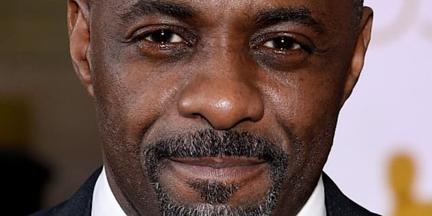 HOLLYWOOD, CA - FEBRUARY 22:  Actor Idris Elba attends the 87th Annual Academy Awards at Hollywood & Highland Center on February 22, 2015 in Hollywood, California.  (Photo by Kevork Djansezian/Getty Images)