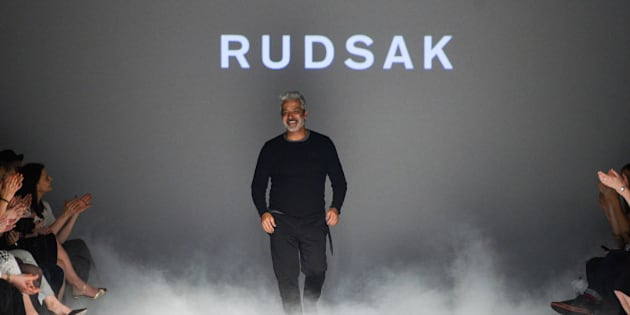 TORONTO, ON - MARCH 26:  Designer Evik Asatoorian presents his fall 2015 Collection during World MasterCard Fashion Week Fall 2015 at David Pecaut Square on March 26, 2015 in Toronto, Canada.  (Photo by George Pimentel/Getty Images for IMG)