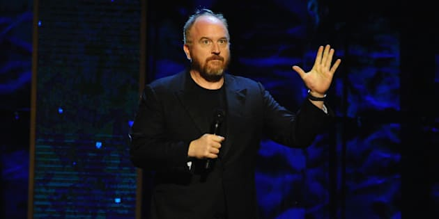 NEW YORK, NY - FEBRUARY 28:  Louis C.K. performs on stage at Comedy Central's 'Night of Too Many Stars: America Comes Together For Autism Programs' on February 28, 2015 in New York City.  (Photo by Andrew Toth/FilmMagic)