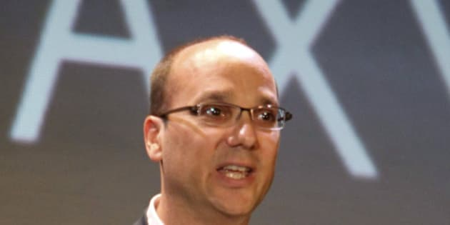 Google Vice President  of Engineering Andy Rubin speaks to media about the new Samsung Galaxy S phone running Google's new operating system Android at the Samsung headquarters  during a media launch Tuesday, June 8, 2010 in Seoul, South Korea. (AP Photo/Wally Santana)
