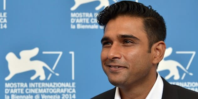 Actor Vivek Gomber poses during the photocall of the movie 'Court' presented in the Orizzonti selection at the 71st Venice Film Festival on September 4, 2014 at Venice Lido.   AFP PHOTO / TIZIANA FABI        (Photo credit should read TIZIANA FABI/AFP/Getty Images)