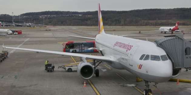 This is the A320 that sadly crashed in the south of France on March 24, 2015...operating as 4U 9525, from Barcelona to Düsseldorf...  may those poor souls rest in peace...   4U is again receiving A320s from parent Lufthansa - some of them spent some time low cost flying before already as 'Papa X-Ray' a decade ago...  First flight: November 29, 1990...(c/n 147)  06/02/1991 Lufthansa D-AIPX   01/06/2003 Germanwings D-AIPX 22/07/2004 Lufthansa D-AIPX named Mannheim 31/01/2014 Germanwings D-AIPX, crashed on March 24, 2015 while operating operating 4U 9525 from Barcelona to Düsseldorf; cause of the crash was the alleged suicide of the first officer. 150 people lost their lives...
