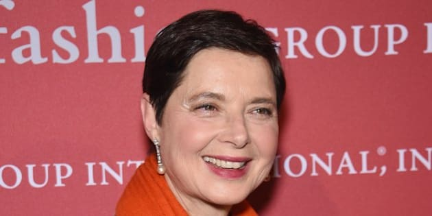 NEW YORK, NY - OCTOBER 23:  Isabella Rossellini attends the 31st Annual FGI Night of Stars event at Cipriani Wall Street on October 23, 2014 in New York City.  (Photo by Dimitrios Kambouris/Getty Images)