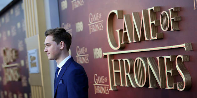 SAN FRANCISCO, CA - MARCH 23:  Actor Dean-Charles Chapman attends the premiere of HBO's 'Game of Thrones' Season 5 at San Francisco Opera House on March 23, 2015 in San Francisco, California.  (Photo by Justin Sullivan/Getty Images)