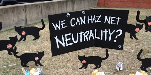 On Jan. 29, 2015 outside the FCC, Free Press organized a a historic battle between two contenders who symbolized the fight over the fate of the Internet. On one side was Net Neutral-i-kitty, representing the millions of Internet users who had spoken out for Net Neutrality over the past year. On the other side was Cable Boss, hailing from the self-serving nation of Comcast.