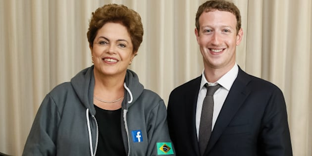 Cidade do Panamá - Panamá, 10/04/2015. Presidenta Dilma Rousseff durante encontro com Presidente do Facebook, Mark Zuckerberg. Foto: Roberto Stuckert Filho/PR
