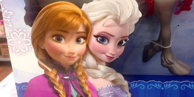 Disney Frozen Dolls Walmart Exclusive Gift Pack. 8/2014 By Mike Mozart of TheToyChannel and JeepersMedia on YouTube