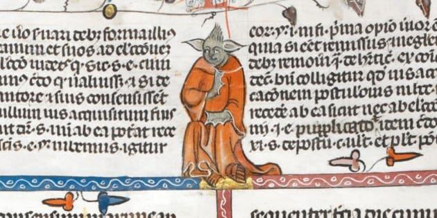 Yoda (ou presque) retrouvé dans un manuscrit médiéval