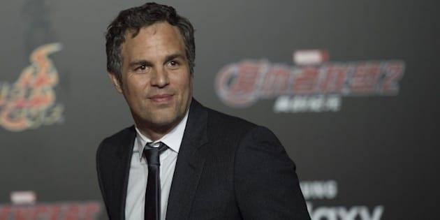US actor Mark Ruffalo poses for a photo session to promote Marvel's 'Avengers: Age Of Ultron' in Beijing on April 19, 2015.   AFP PHOTO / FRED DUFOUR        (Photo credit should read FRED DUFOUR/AFP/Getty Images)