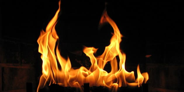 I took several shots of the fire in our in room fireplace when we stayed at the Riverhouse in Bend, Oregon.  This is probably the best one that I captured.  I was mainly just playing with the camera settings to see the different effects.