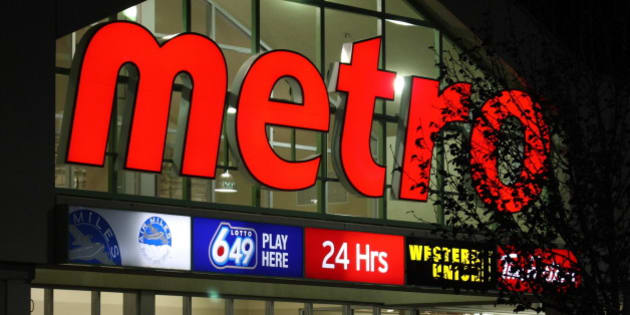 "A Store is Born - Dominion's becomes ""metro"".  The day the sign changed."